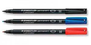 Rotulador Edding y Staedtler Permanente
