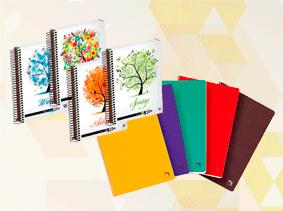 Blocs, cuadernos y recambios